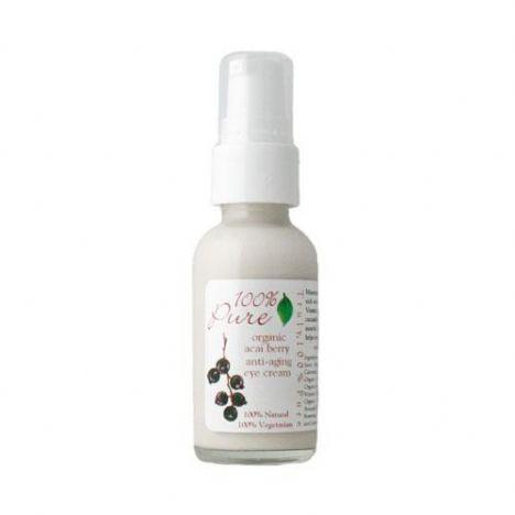 %100 Pure Organic Açai Berry antioksidan yüz kremi