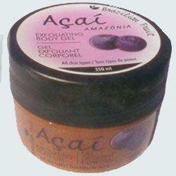 Açai Amazonia Exfoliating Body Gel vücut eksfoliantı