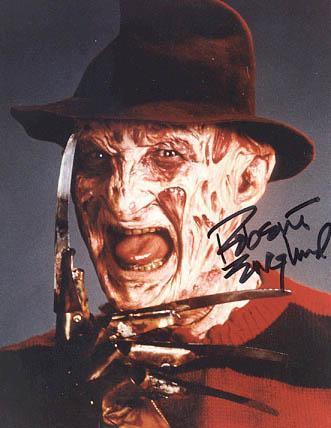 """""""Phantom of the Opera"""" filminde de rol alan Englund, herkesin gözünde dehşet saçan """"Freddy Krueger"""" olmaktan kurtulamıyor."""