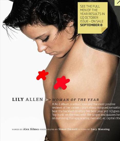 Lily Allen balkonda üstsüz! - 18