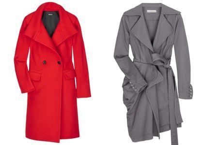 Uzun paltolar Şık olmaya en dışarıdan başlamaya ne dersiniz? Sizi hem soğuktan koruyacak, hem de çok şık görünmenizi sağlayacak olan uzun paltoların bu sezon bin bir çeşidi var. Mağazaları şöyle bir gezmeye çıktığınızda, onlarca farklı renk ve model paltoyla karşılaşabilirsiniz. Ama en ideal olanı arıyorsanız; ister natural tonlarda olsun ister renkli, seçeceğiniz uygun uzunluk diz boyu olmalıdır. Ayrıca palto alışverişinde tercihinizi renkli olanlardan yana da kullanırsanız, koyu iş kıyafetlerinize hareketlilik ve enerji katacağı kesin!