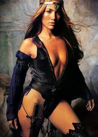 Jennifer Lopez  Magazin basınını peşinden koşturan Latin güzel, sinema ve müzik dünyasında esen bir fırtına.