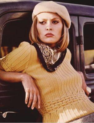 Faye Dunaway  ''Bonnie ve Clyde'' filminin unutulmaz yıldızı, sinema dünyasında ''tehlikeli güzel'' imajının ilk temsilcisiydi.