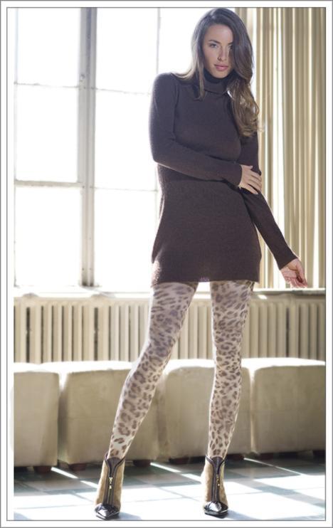 Desenli ve renkli bacaklar heyecanlandırıyor! - 12