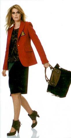 Ceket, İpekyol 399 TL Bluz, Twist 109 TL Etek, Stefanel 249 TL Çanta, Mudo Collection 89,95 TL Ayakkabı, Hotiç 248 TL