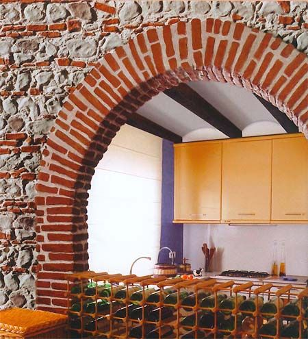 Duvarlarda taş modası... - 22