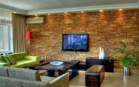 Duvarlarda taş modası...  Harika görünümü ile uzun ömürlü, ahşap esaslı, ısı ve ses yalıtımlı malzemeden oluşmaktadırlar. Ayrıca sadece duvarlarda değil tavanlarda da kolaylıkla uygulanabilmektedir.