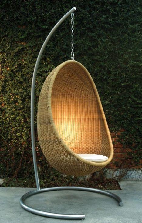 Bu marjinal tasarımlar insanı şaşırtıyor!    Bonacina Pierantonio tasarımı olan yumurta şeklindeki mobilya...