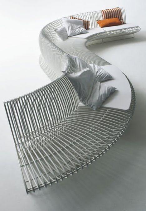 Bu marjinal tasarımlar insanı şaşırtıyor!    Bonacina Pierantonio'nun dış mekanlar için modüler tasarımı...