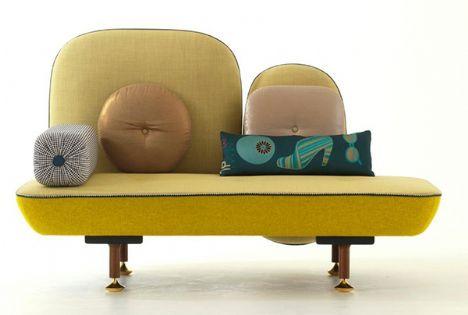 Bu marjinal tasarımlar insanı şaşırtıyor!    Nipa Doshi ve Jonathan Levien - Moroso