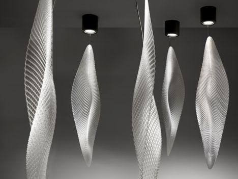 Bu marjinal tasarımlar insanı şaşırtıyor!    Cosmic Leaf Artemide tasarımı aydınlatma...