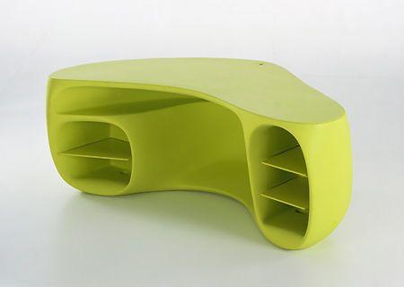 Bu marjinal tasarımlar insanı şaşırtıyor!   Philippe Strack tasarımlı çalışma masası...
