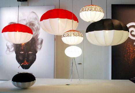 Bu marjinal tasarımlar insanı şaşırtıyor!    Eurolantern bu aydınlatmaları Mooi için tasarladı...