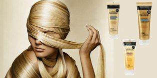 Şampuan Saç telini matlaşmaya neden kalıntılardan arındıran şampuan, sarı tonlarındaki saçların canlı ve parlak görünmesine yardımcı oluyor.  Koyu sarı saçlara özel şampuan: 22 TL JOHN FRIEDA