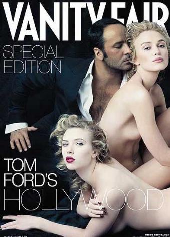 Yıl 2006... Scarlett Johannsohn ve Keire Knightley, Vanity Fair'e soyundu.