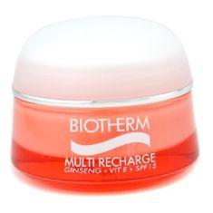 Biotherm, Multi Recharge Day Cream, SPF 15, canladırıcı günlük bakım kremi, 50 ml, 108 TL