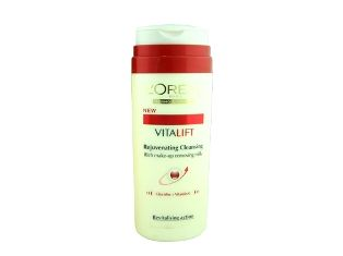 L'Oreal Vitalift, Rejuvenating Cleansing, Rich Milk, cilt yenileyen makyaj temizleme sütü, 200 ml, 16.50 TL