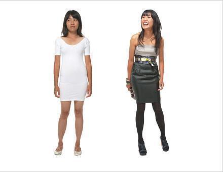 Vücut şeklinize göre doğru elbiseyi seçin!  Hiç kalçanız yok mu? Vücudunuzun bir kız çocuğununkine benzediğini düşünüyorsunuz ve bu da sizi çok mutsuz ediyor. Üzülmeyin, bunun da çaresi var. Düz kesim bir elbise alıp, belinize kalın bir kemer takabilirsiniz, ya da göğüs altından itibaren bollaşan elbiseleri deneyin.