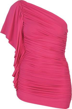 Jarse kumaşından mini elbise. Neon renklerin hüküm sürdüğü bu sezonda kaçırılmaması gereken bir ürün.   Satın almak için tıklayın!