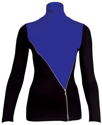 Elektrik mavisi ve siyah fermuarlı elbise. Kış trendlerini yakından takip etmek isteyenlere...   Satın almak için tıklayın!