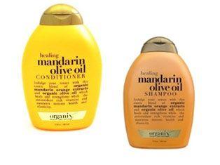 Organik portakal özleriyle saçlarınızı derinlemesine temizleyin. Mandarin Olive Oil Şampuan: 26.00 TL, Mandarin Olive Oil Saç Kremi: 24.15 TL Organix