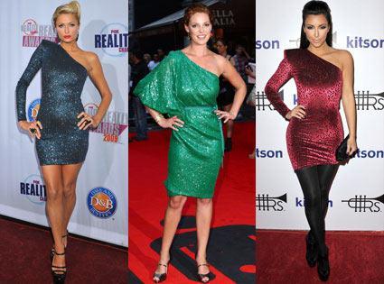 Paris Hilton, Kathrine Heigl, Kim Kardashian