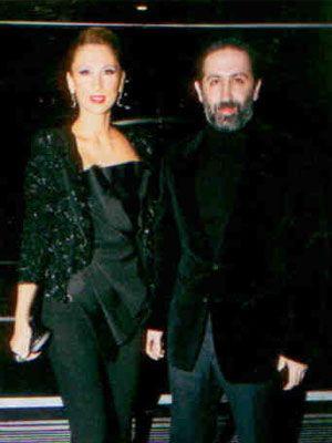 Kent Gıda'nın ortağı Özcan Tahincioğlu ile eşi Aylin Tahincioğlu.