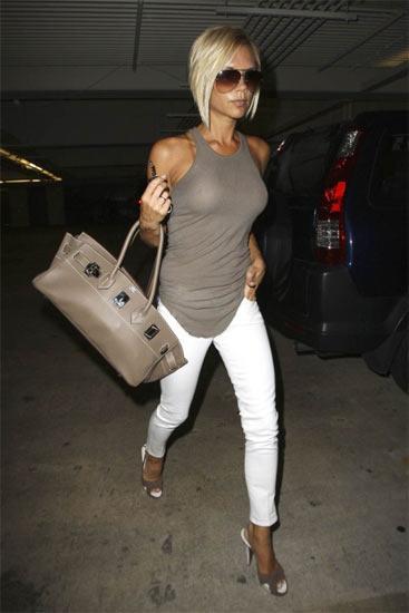Beckham Hermes çantasıyla