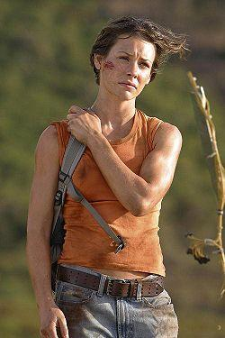 Evangeline Lily  1979 doğumlu Kanada'lı aktris , Katherine 'Kate' Austen karakterine hayat veriyor.  Nicole Evangeline Lilly, oyunculuktaki çıkışını Lost dizisinde oynadığı Kate Austen rolüyle yaptı.