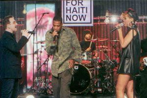 Hollywood'dan Haiti'ye rekor destek - 16