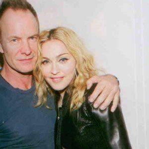 Sting ve Madonna