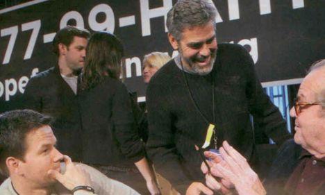 Mark Wahlberg, George Clooney, Jack Nicholson