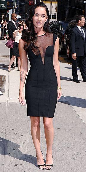 Megan Fox'un elbisesi Herve Leroux
