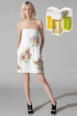Stiliniz: Hanım hanımcık Chloe'nin lavanta, neroli ve Latin çiçeği bazlı modern çiçeksi parfümü, klasik erkeksi notalarla birleşerek androjen bir görünümü tamamlıyor.   Chloe, Eau De Fleurs Lavande parfüm