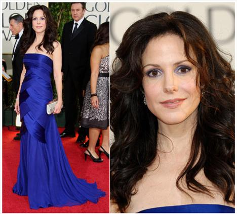 Mary Louise Parker Carlos Miele elbisesiyle