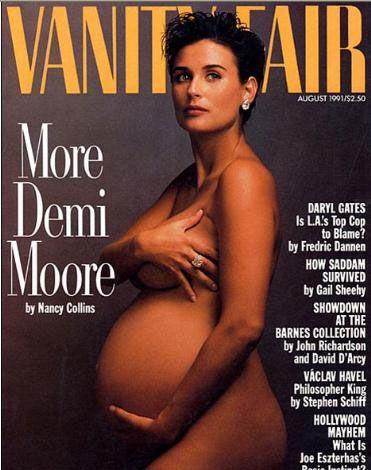 Ünlülerden hamile pozu! - 5