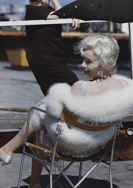 Monroe ve McQueen'in bilinmeyen fotoğrafları - 9