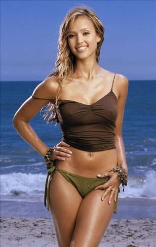 Jessica Alba: 57 kilo
