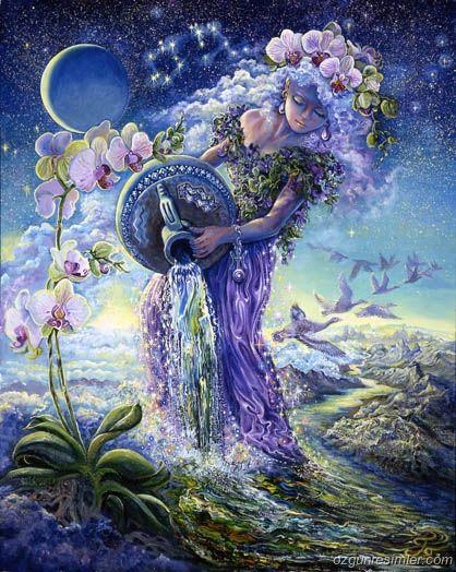 """Kova Burcu Perisi: Ariel  Mitolojide, Ariel, neşe ve mizah anlayışı sağlayan Sylph prensesine verilen isimdir. Doğduğunuzda Ariel perisi kulağınıza şunları fısıldar:  """"Nereye gidersen git orada iz bırakacaksın.   Çok yaratıcı olacaksın, büyük bir sanatçı olacaksın.  Sana ihtiyaç duyan herkese yardım edeceksin.  Çok zeki olacaksın."""""""