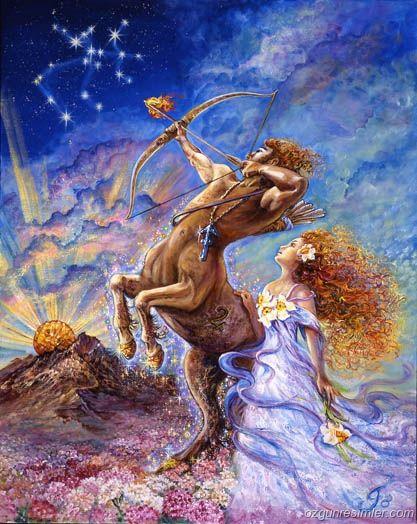 """Yay Burcu'nun Perisi: Glasting  Glasting perisi, mitolojide bilgelik perisi olarak tanınan ejder ruhunun perisidir. Glasting perisi doğduğunuzda kulağınıza şunları fısıldar:  """"Çok iyimser olacaksın.  Rüyalarını gerçekleştirmek için dünyanın öbür ucuna gitmekten çekinmeyeceksin.  Tutkulu, hırslı olacaksın.  Affedici olacaksın.   Çok büyük bir yaşama enerjisine sahip olacaksın."""""""