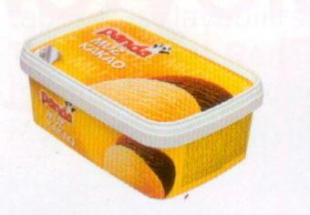 Panda Muz-Kakao Paket dondurma pazarına ilk giren markalardan biri olan Panda'nın ikisi bir arada kutusu, muz ve kakaonun keyfini aynı anda yaşatıyor.  100 gr'da Enerji: 174 kcal. Yağ: 6.93 gr. Protein: 3.34 gr.