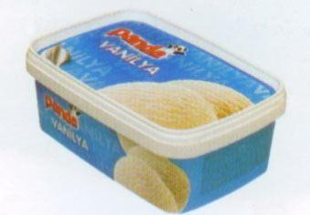 Panda Vanilyalı Klasik bir tat olan vanilyalı dondurmayı sade olarak tüketebileceğiniz gibi taze meyvelerle zenginleştirebilirsiniz.  100 gr'da Enerji: 163 kcal. Yağ: 6.74 gr. Protein: 2.94 gr.