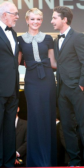 Carey Mulligan  2010 yılının parlayan yıldızı Carey Mulligan Azzaro tuvaletiyle Cannes'da da dikkatleri üzerine çekiyor.