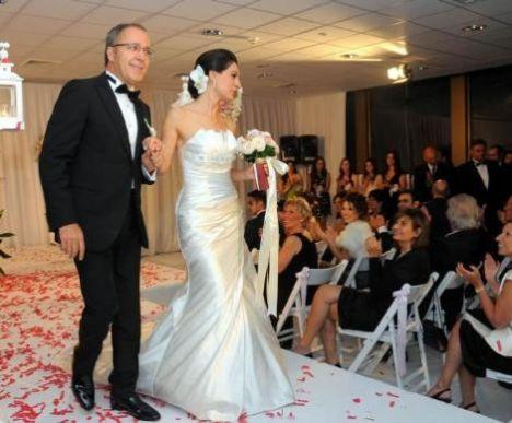 Muhteşem düğünden kareler...