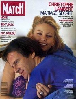 Lane ve Lambert'in evlilikleri 1994 yılında sona erdi.