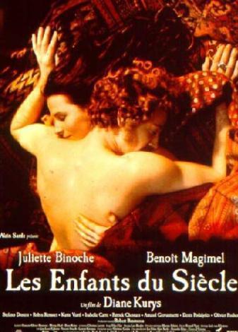 Fransız yıldız Juliette Binoche ve Benoit Magimel, başrolleri paylaştıkları L'enfants du Siecle (Aşkın Büyüsü) filmine başladıklarında sadece iki meslektaştı.