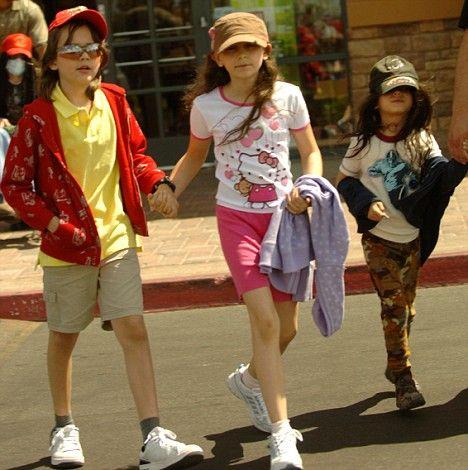 Michael Jackson'ın çocukları okula gidecek - 6