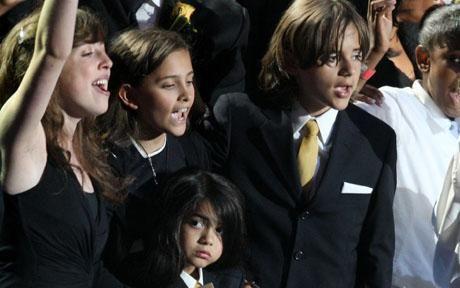 Michael Jackson'ın çocukları okula gidecek - 3