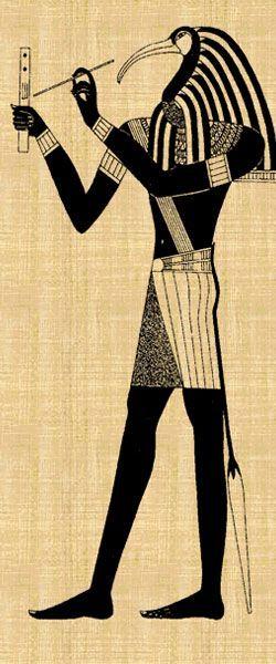 Thot(29 Ağustos-27 Eylül)  Zeka ve edebiyat tanrısı, Osiris'in danışmanı ve Horus'un koruyucusudur. Kelimelerin ve matematiğin tanrısı olarak kabul edilir, ayrıca tüm yazarları koruduğuna inanılır, hiyeroglif ustasıdır ve ayrıca büyücüler üzerinde büyük bir etkiye sahiptir, gökbilimcileri, savaşçıları ve matematikçileri korur.  Karakter  Meraklı ve girişimci bir yapınız var; mükemmel bir organizasyon yeteneğine sahipsiniz. Esrarengiz olaylara çok ilgi duyuyorsunuz, bir savaşçı ruhuna sahipsiniz ve bu ruh sizi sınırlarınızı aşmaya itiyor, hayatın size neşe ve mutluluk veren temel öğeleri sizin için önemlidir, hem cömert, hem de dürüstsünüz. Doğal bir otoriteye sahipsiniz, parmağınızı oynatmadan insanları kolayca yanınıza çekebiliyorsunuz, sizi destekliyorlar. Sözünüze sadıksınız, benzersiz niteliklerinizi duygusal hayatınıza ve ailenize de yansıtıyorsunuz, doğuştan bir öğretmen veya araştırmacısınız, sizinle her şey mümkündür  bilinmeyen bir konuda öğretmen veya değişik bir konuda araştırmacı olabilirsiniz. Kusurunuz sabırsızlıktır. Gazeteci, aktör, öğretmen ve avukatlar bu burçtan çıkar.