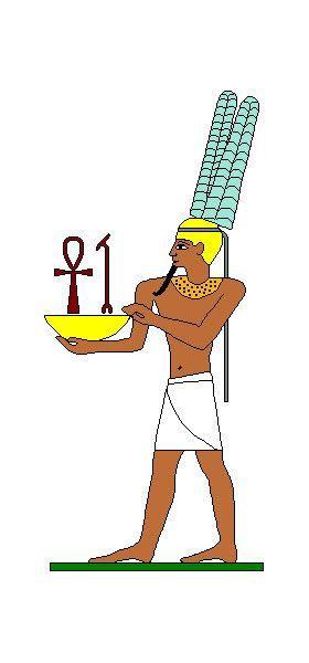 Amun (26 Nisan- 25 Mayıs)  Mısır inanışlarına göre Amun dünyayı yaratan tanrıdır.  Karakter  Bu burçta doğanlar güçlü, zinde ve önderlik etmeyi seven kişilerdir; iradeleri de güçlüdür. Mükemmel lider olurlar ama biraz hoşgörüden yoksundurlar. Duygusal bir yapınız var, bu yüzden bazen kendinize olan güveninizi kaybeder ve melankoli ile neşe arasında gidip gelmeye başlarsınız. Hassas yapınız hayal gücünüzün, çok zengin olduğunu gösterir; başkaları sizi gizemli biri olarak görebilirler. Sizi yatıştırmak için sabırlı olmaları gerekir. Bazen korunmak amacıyla, kendinizi başkalarından izole eder, kabuğunuza çekilirsiniz. Sosyal konulara eğiliminiz vardır. Adil, dürüst bir insansınız ve vicdanlısınız; bu özellikleriniz sayesinde insanlar size hayranlık duyarlar. Korkularınıza rağmen aşk, hayatınızın önemli bir parçasını teşkil eder ve aşkınız için dağları yerinden oynatabilirsiniz! Eşinizde ileri görüşlülük, otoriterlik ve nezaket ararsınız. Finans alanındaki mesleklerde başarılı olursunuz.